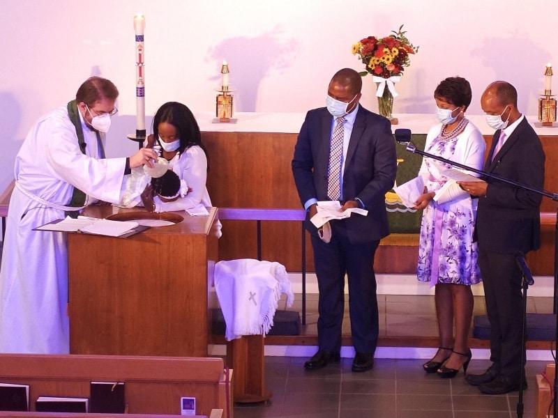 Rite of Baptism, Sia Marie Kwayu 10-11-2020