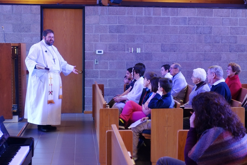 2019-01-13 CLC Pastor R Childrens sermon DSC04172