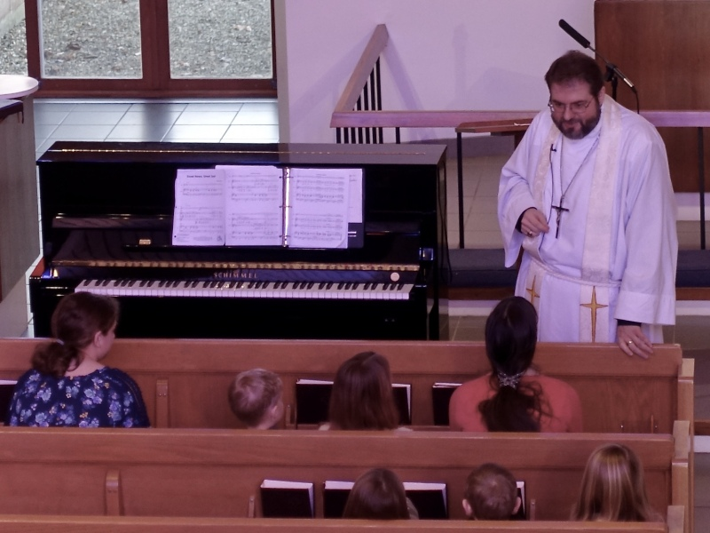 "Children's Sermon, ""Baptism of Jesus"""