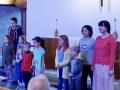 "Children sing ""Good News, Great Joy"""