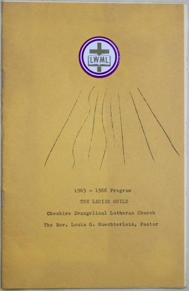 1965 1966 Ladies Guild 1