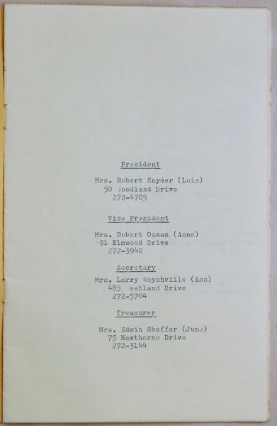 1965 1966 Ladies Guild 2