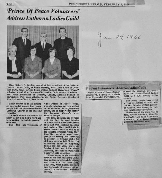 1966 Ladies Guild