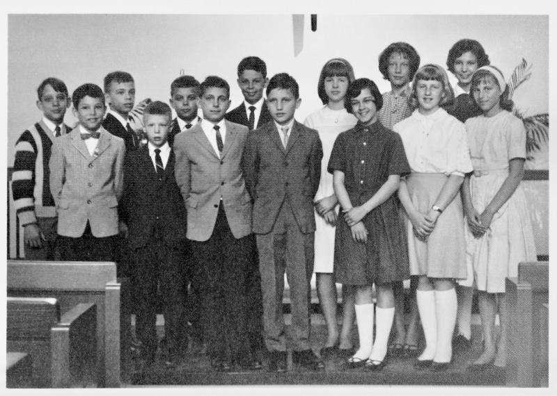 Circa 1965 Sunday School