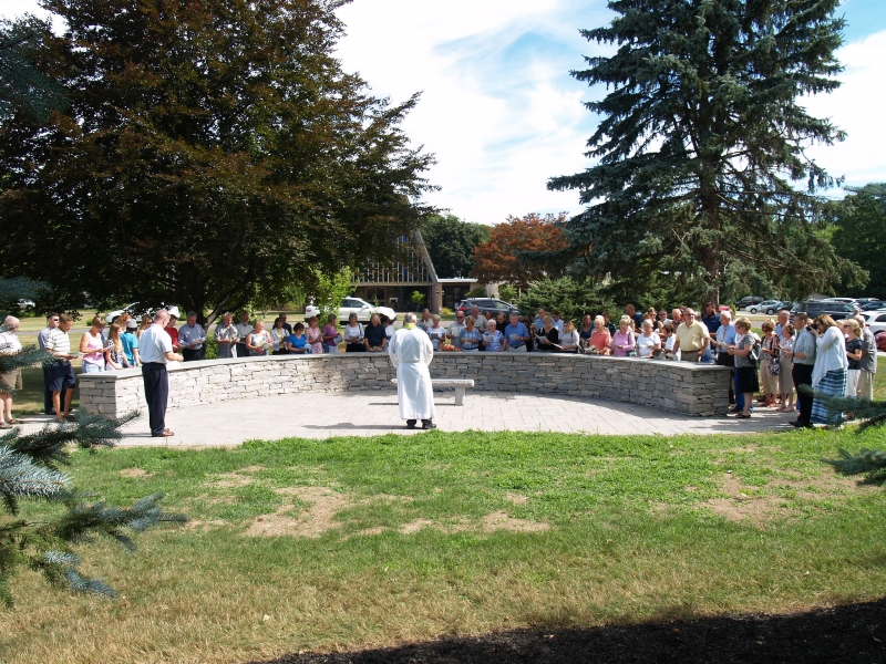 2016-07-24 CLC Columbarium Blessing Dedication P7241879