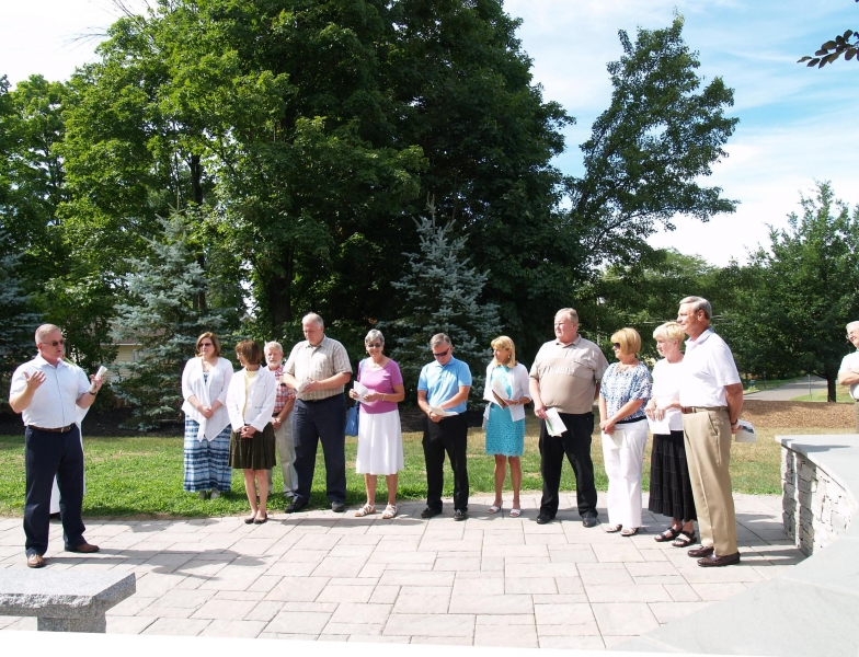 2016-07-24 CLC Columbarium Blessing Dedication P7241886