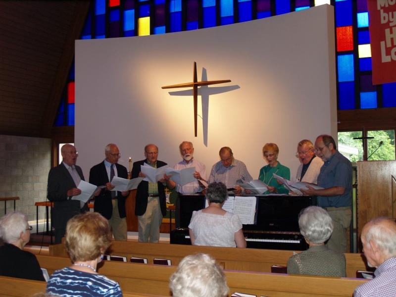 2015-06-28 CLC The Ensemble group singing_P6280750