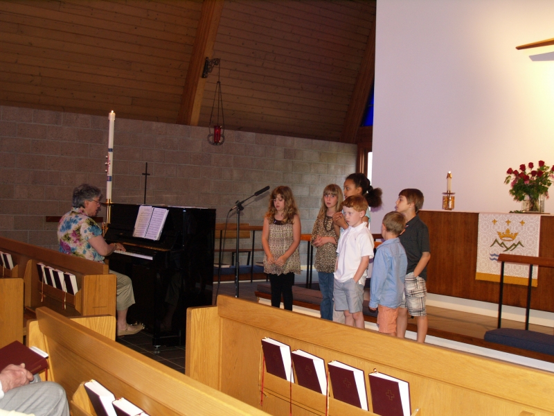 2014-05-11 CLC Sunday School singing P5118246