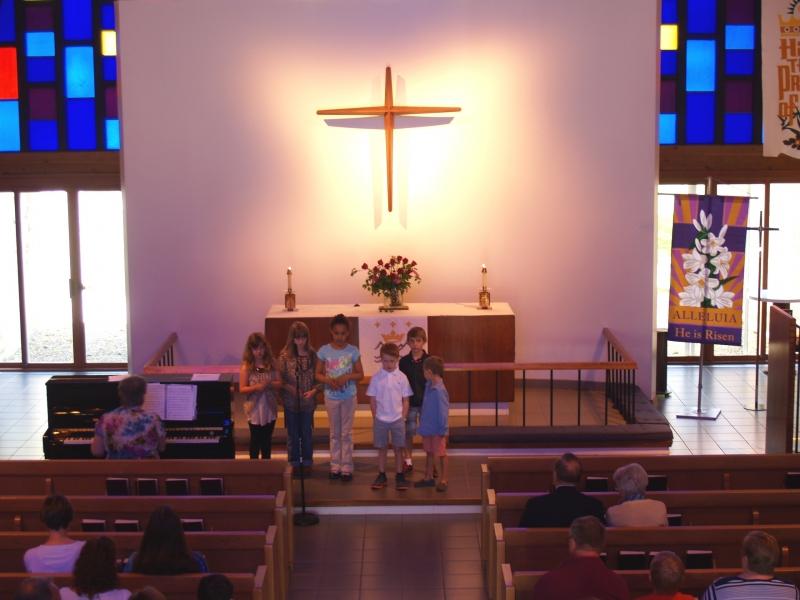 2014-05-11 CLC Sunday School singing P5118247