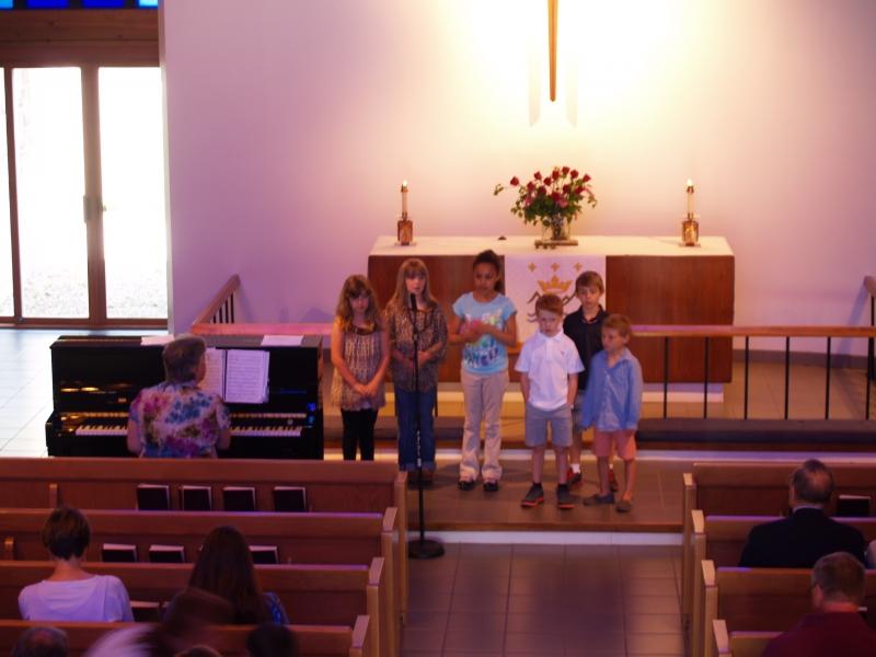 2014-05-11 CLC Sunday School singing P5118249