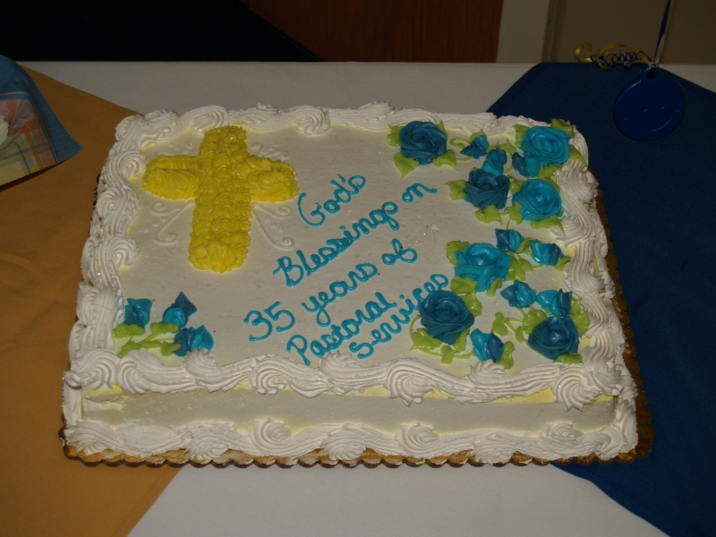 2014-06-15 CLC Pastor Charles Gustafson 35th Ordination anniv serv P6158452