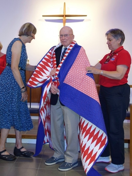 2019-07-28-CLC-Quilts-of-Valor-Honor-Our-Veterans-Bill-Hillis-DSC04852
