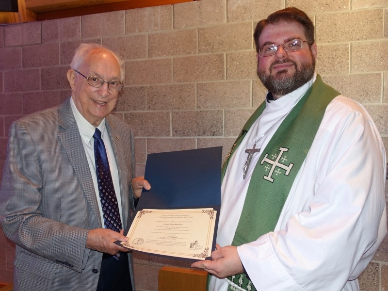 2018-07-08 NED recogition of Pastor Nuechterlein for 64 yrs of ministry DSC02403
