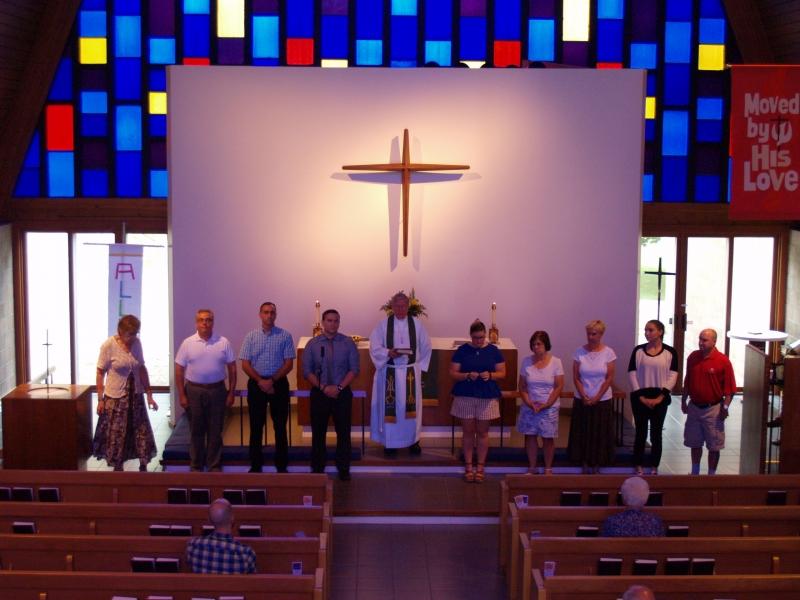 2016-09-11 CLC Sunday School teacher installation P9112027