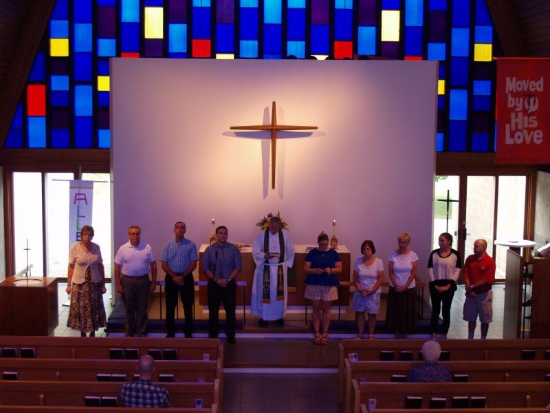 2016-09-11 CLC Sunday School teacher installation P9112028