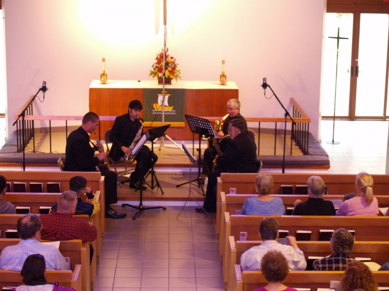 2016-10-02 CLC Thimble Islands Saxophone Quartet Concert PA022070